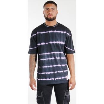 Υφασμάτινα Άνδρας T-shirts & Μπλούζες Sixth June T-shirt  Tie & Dye noir/violet