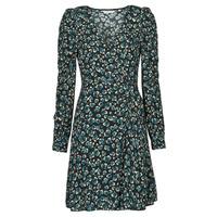 Υφασμάτινα Γυναίκα Κοντά Φορέματα Naf Naf LEO R1 Leo / Black / Green