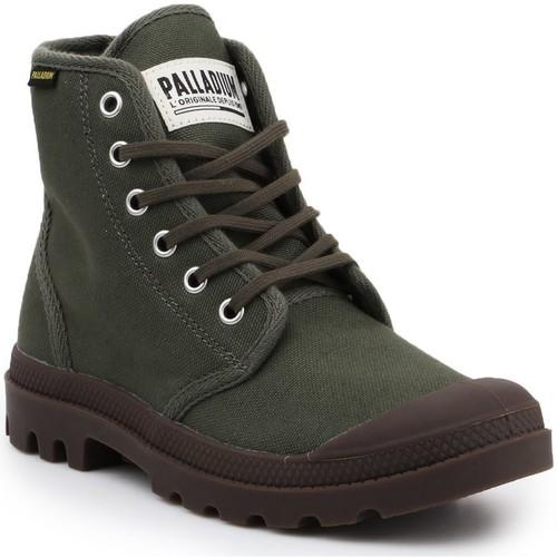 Παπούτσια Μπότες Palladium Manufacture Pampa HI Originale 75349-326-M olive green