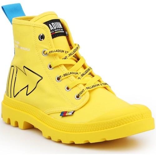 Παπούτσια Μπότες Palladium Manufacture Pampa Dare REW FWD 76862-709-M yellow