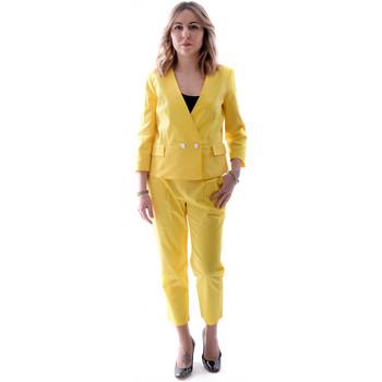 Υφασμάτινα Γυναίκα Κοστούμια Fracomina FR20SP090 Κίτρινος