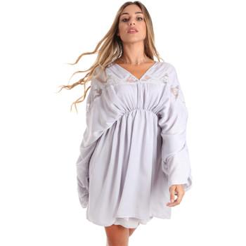 Υφασμάτινα Γυναίκα Κοντά Φορέματα Fracomina FR20SMBARBARA Μπλε