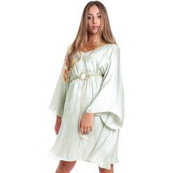 Υφασμάτινα Γυναίκα Κοντά Φορέματα Fracomina FR20SMELISABETH Πράσινος