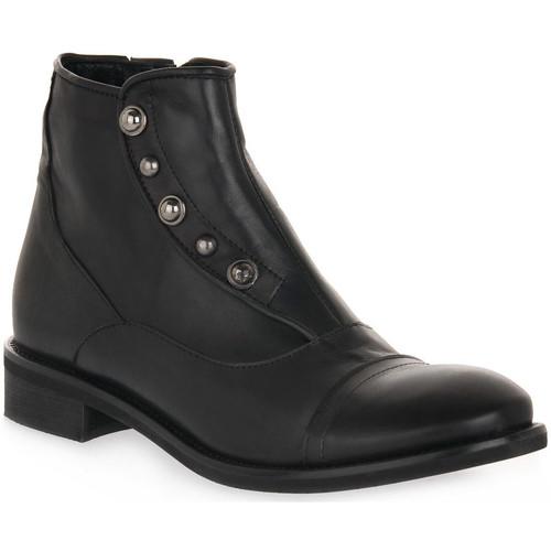 Παπούτσια Γυναίκα Μποτίνια Priv Lab 3135 SQUAMA NERO Nero