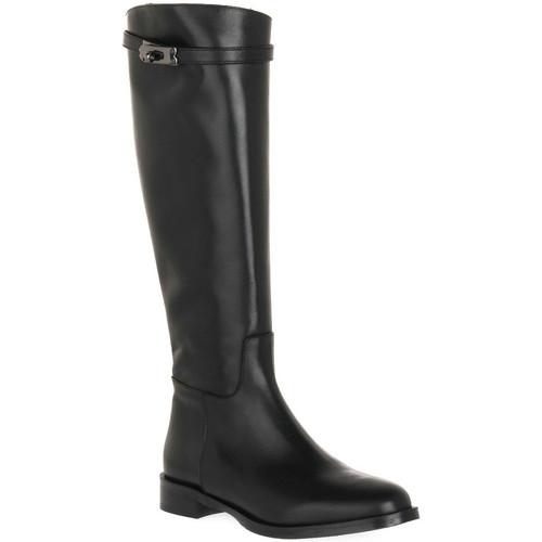 Παπούτσια Γυναίκα Μπότες για την πόλη Priv Lab NERO NATURE Nero