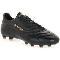 Παπούτσια Άνδρας Ποδοσφαίρου Pantofola d'Oro SUPERSTAR LC CANGURO NERO PU Nero