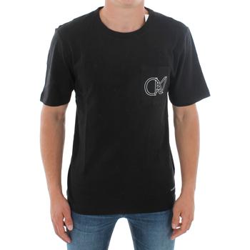 Υφασμάτινα Άνδρας T-shirt με κοντά μανίκια Calvin Klein Jeans J30J309612 099 BLACK Negro