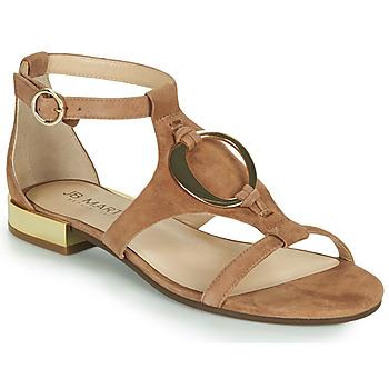 Παπούτσια Γυναίκα Σανδάλια / Πέδιλα JB Martin BOCCIA Brown