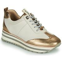 Παπούτσια Γυναίκα Χαμηλά Sneakers JB Martin 4CANDIO Banc / Gold