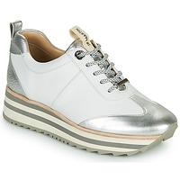 Παπούτσια Γυναίκα Χαμηλά Sneakers JB Martin 4CANDIO Silver / Άσπρο