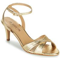 Παπούτσια Γυναίκα Σανδάλια / Πέδιλα JB Martin POETIE Gold