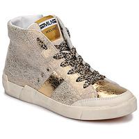 Παπούτσια Γυναίκα Ψηλά Sneakers Meline NK1384 Gold