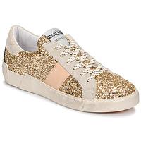 Παπούτσια Γυναίκα Χαμηλά Sneakers Meline NKC1381 Gold