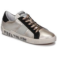 Παπούτσια Γυναίκα Χαμηλά Sneakers Meline NK1382 Bronze / Black