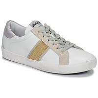 Παπούτσια Γυναίκα Χαμηλά Sneakers Meline KUC1414 Άσπρο / Gold