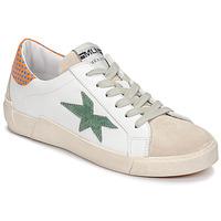 Παπούτσια Γυναίκα Χαμηλά Sneakers Meline NK1364 Άσπρο / Green
