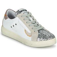 Παπούτσια Γυναίκα Χαμηλά Sneakers Meline CAR139 Άσπρο / Glitter