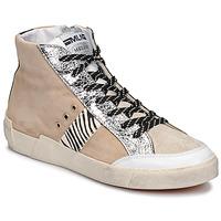 Παπούτσια Γυναίκα Χαμηλά Sneakers Meline NK1384 Beige / Ζέβρα