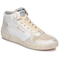 Παπούτσια Γυναίκα Ψηλά Sneakers Meline NK1409 Άσπρο / Croc