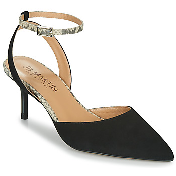 Παπούτσια Γυναίκα Σανδάλια / Πέδιλα JB Martin TWISTO Black / Άσπρο