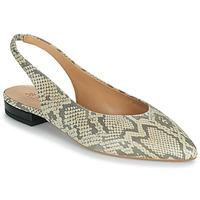 Παπούτσια Γυναίκα Μπαλαρίνες JB Martin VELANI Άσπρο / Black