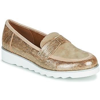 Παπούτσια Γυναίκα Μοκασσίνια Sweet BETOUN Gold