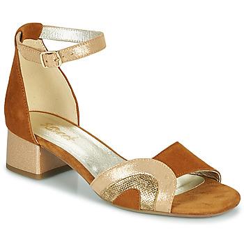 Παπούτσια Γυναίκα Σανδάλια / Πέδιλα Sweet CHINOS Camel