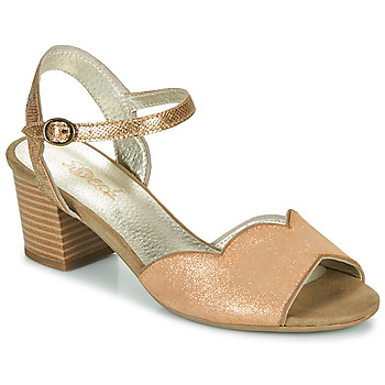 Παπούτσια Γυναίκα Σανδάλια / Πέδιλα Sweet GOLFE Gold