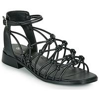 Παπούτσια Γυναίκα Σανδάλια / Πέδιλα The Divine Factory LS1793H Black