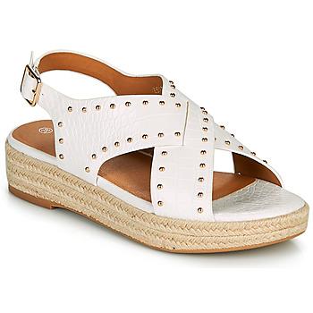 Παπούτσια Γυναίκα Σανδάλια / Πέδιλα The Divine Factory LS1802J Άσπρο