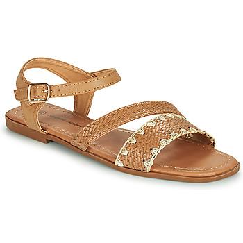 Παπούτσια Γυναίκα Σανδάλια / Πέδιλα The Divine Factory TX4339 Camel