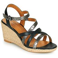 Παπούτσια Γυναίκα Σανδάλια / Πέδιλα The Divine Factory QL4354 Black