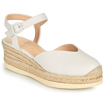 Παπούτσια Γυναίκα Σανδάλια / Πέδιλα Unisa CEINOS Άσπρο