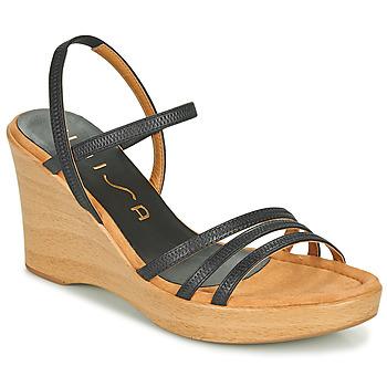 Παπούτσια Γυναίκα Σανδάλια / Πέδιλα Unisa RENERA Black