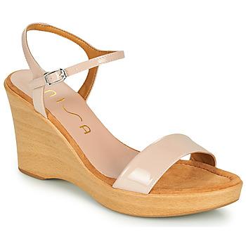 Παπούτσια Γυναίκα Σανδάλια / Πέδιλα Unisa RITA Ροζ