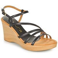 Παπούτσια Γυναίκα Σανδάλια / Πέδιλα Unisa RABAL Black