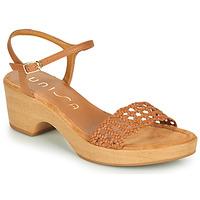 Παπούτσια Γυναίκα Σανδάλια / Πέδιλα Unisa ILOBI Camel