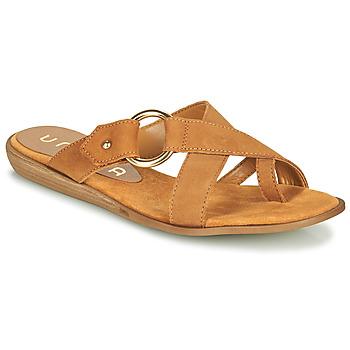 Παπούτσια Γυναίκα Σαγιονάρες Unisa ADRIEL Camel