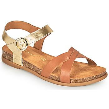 Παπούτσια Γυναίκα Σανδάλια / Πέδιλα Unisa CINCEL Camel