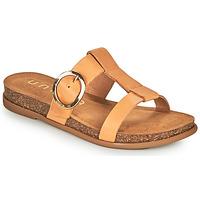Παπούτσια Γυναίκα Τσόκαρα Unisa CIVETA Camel