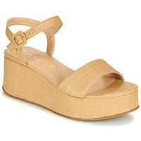 Παπούτσια Γυναίκα Σανδάλια / Πέδιλα Unisa LAIKI Beige