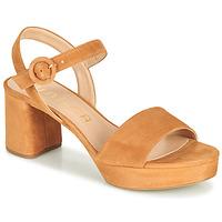 Παπούτσια Γυναίκα Σανδάλια / Πέδιλα Unisa NENES Camel