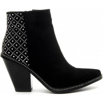 Παπούτσια Γυναίκα Μποτίνια Azarey 68728 BLACK