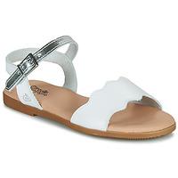 Παπούτσια Κορίτσι Σανδάλια / Πέδιλα Citrouille et Compagnie OBILO Άσπρο