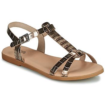 Παπούτσια Κορίτσι Σανδάλια / Πέδιλα Citrouille et Compagnie OBIS Brown