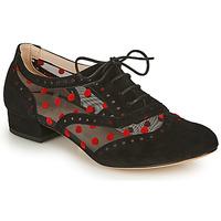 Παπούτσια Γυναίκα Richelieu Fericelli ABIAJE Black / Red