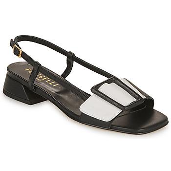 Παπούτσια Γυναίκα Σανδάλια / Πέδιλα Fericelli PANILA Black / Άσπρο