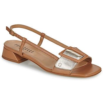 Παπούτσια Γυναίκα Σανδάλια / Πέδιλα Fericelli PANILA Camel / Gold