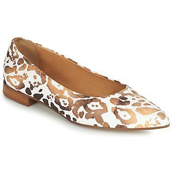 Παπούτσια Γυναίκα Μπαλαρίνες Fericelli SELENA Άσπρο / Gold