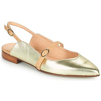 Παπούτσια Γυναίκα Μπαλαρίνες Fericelli SUSANNA Gold